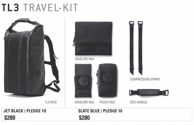 Black Ember Modular Backpacks By Black Ember Kickstarter