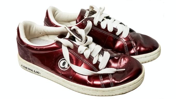 """Scott's Airwalk JIM """"Plastic"""" sneakers"""