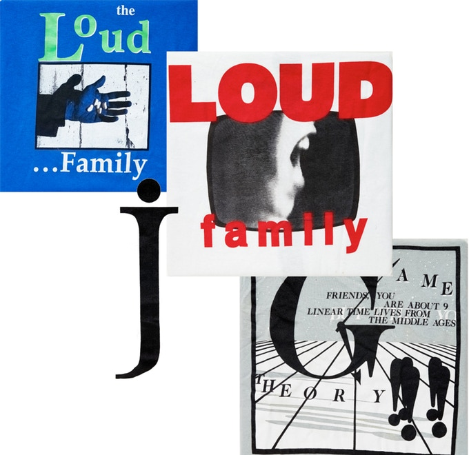 Original Game Theory and Loud Family tour t-shirts