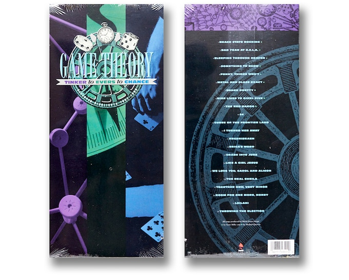 """Game Theory """"Tinkers to Evers to Chance"""" factory sealed longbox CD (Front and back shown)"""