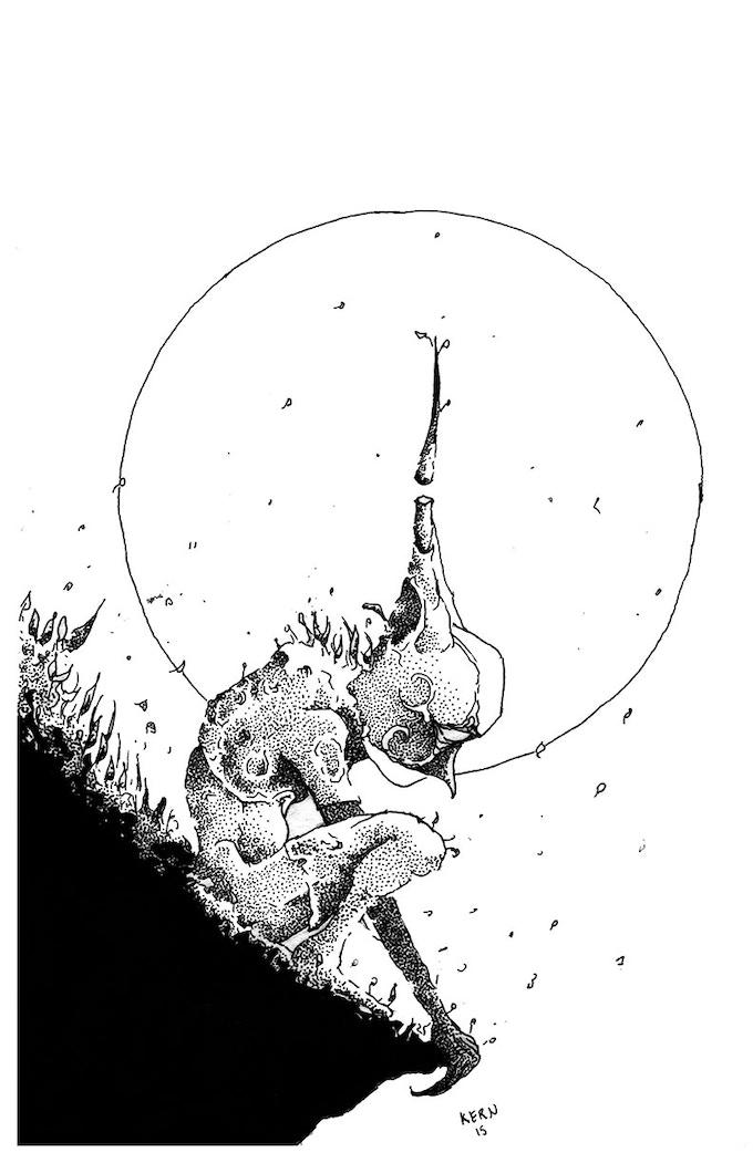 The Shepard, 11 x 17 print (Kickstarter Exclusive)