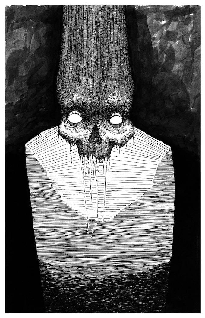 The Caretaker, 11 x 17 Print