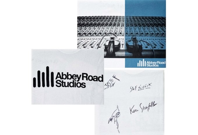 Signed Abbey Road t-shirt