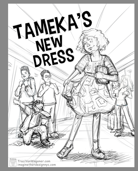 Nelson Beats The Odds: Tameka's New Dress by Ronnie Sidney
