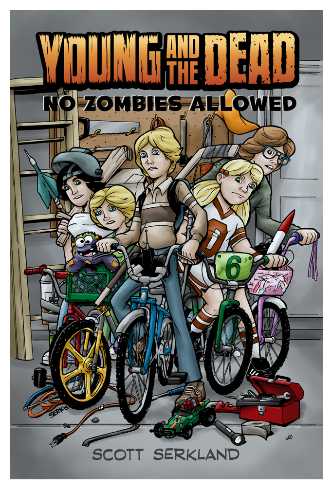Young and the Dead: No Zombies Allowed Issue 3 Cover Art