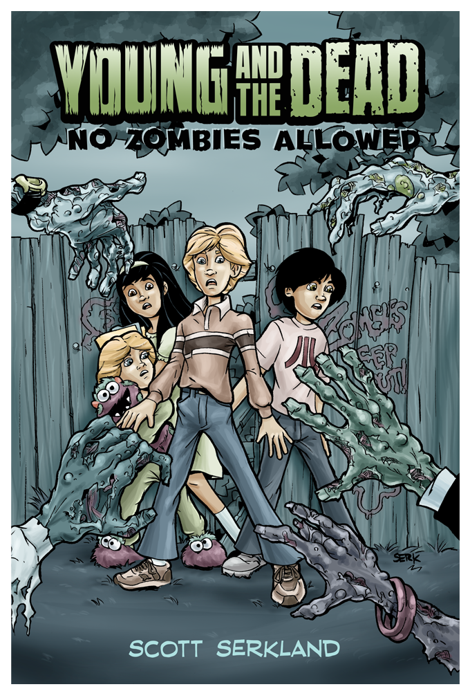 Young and the Dead: No Zombies Allowed Issue 1 Cover Art