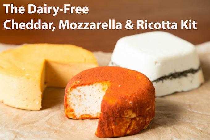 DIY Dairy-Free, Vegan, Paleo Cheese Kits | Urban Cheesecraft