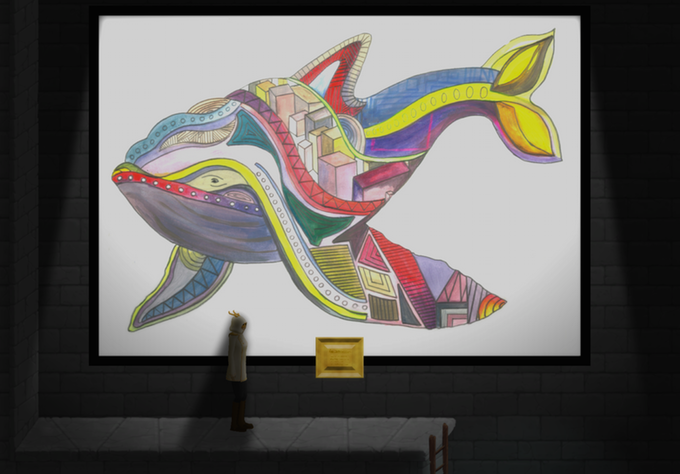 From our Artist Residency Programme, Olivia Peake's Titan Whale gives an incredible reimagining to one of the game's many characters.