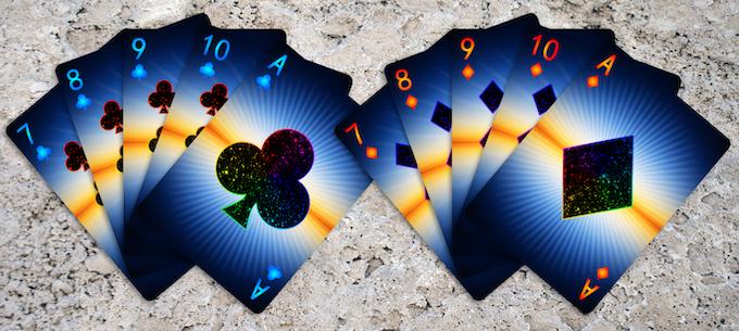 Prism: Dusk Number Card Faces