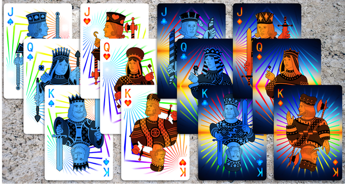 Prism Day & Dusk Court Cards