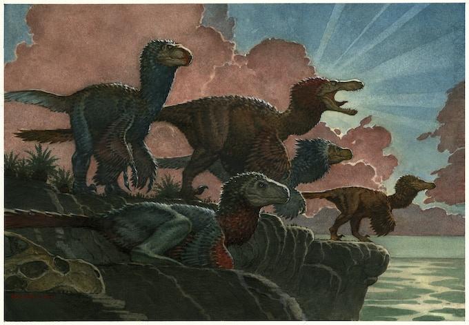 'Raptors at Dawn' by Mark Schultz