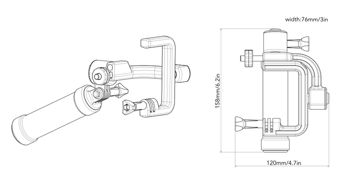 STABYLIZR — Your GoPro® Camera Stabilizer by STABYLIZR