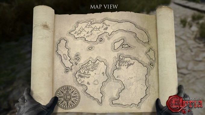 Is that a treasure map or will you find bandits ready to attack?