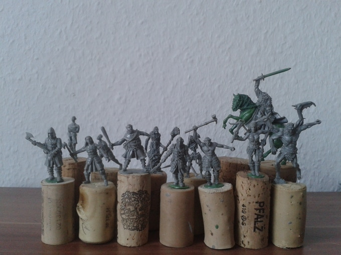 Here is an overall Picture of all miniatures