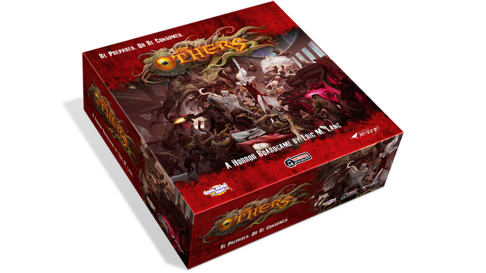 A horror board game with amazing miniatures, where a handful of heroes must face the terrifying corruptive forces of the Seven Sins.