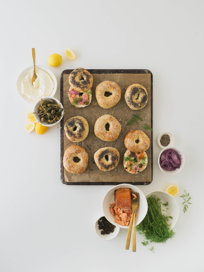 Homemade bagels | GOING IN THE BRUNCH SECTION OF THE BOOK