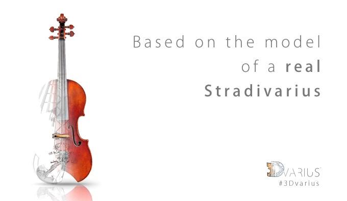 3dvarius High End 3d Printed Electric Violin By 3dvarius Kickstarter
