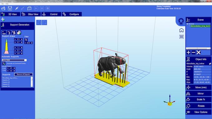 """Host software """"CreationW3D"""""""