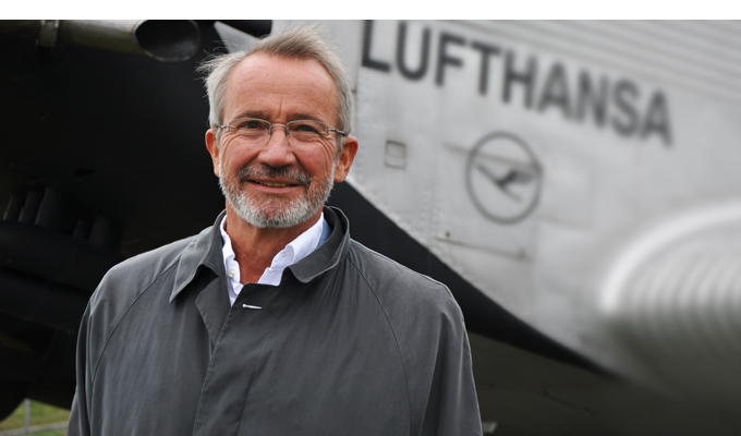 Bernd Junkers, grandson of Hugo Junkers and patron of the J1 Project