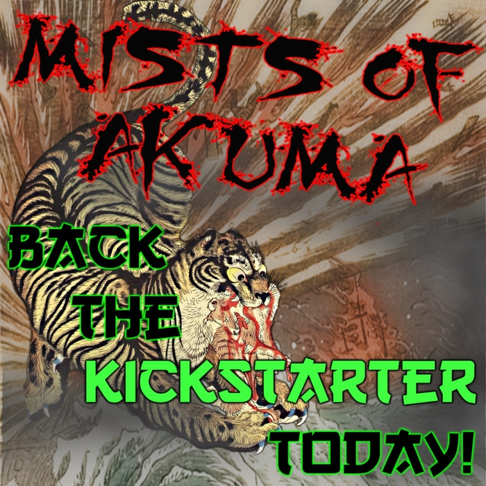 Mists of Akuma: Eastern Fantasy Noir Steampunk for D&D 5E by Mike