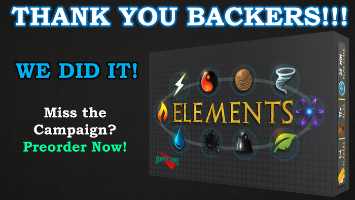 """A quick playing, resource collecting, modern alchemy game with plenty of """"take that!"""" action!  By Rampage Games LLC"""
