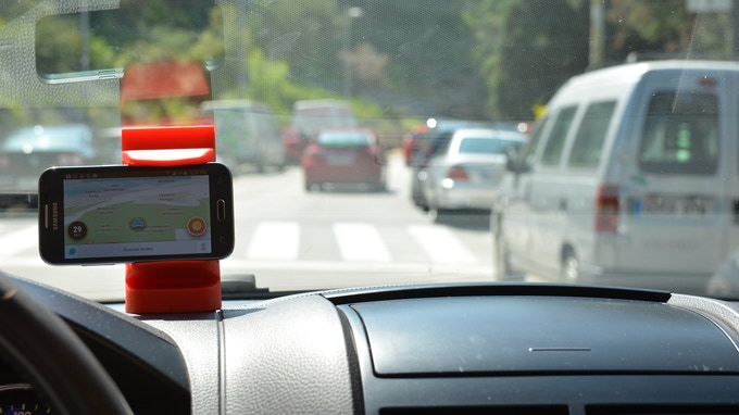 Drive secure, allways keeping your eyes on the road