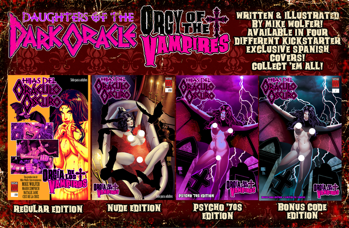Orgy of the vampires
