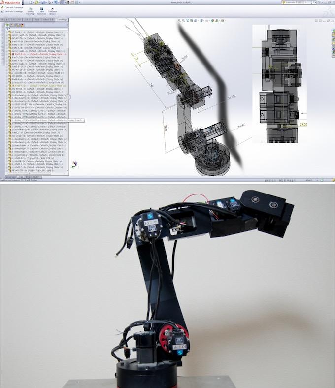 """6-DOF Articulated Robot """"MSR14"""""""