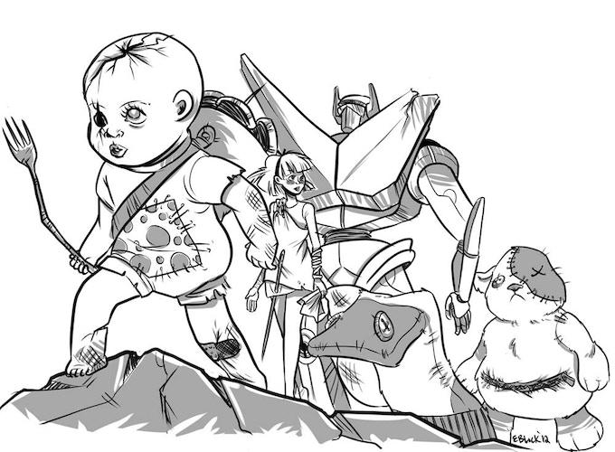 Adventuring toys