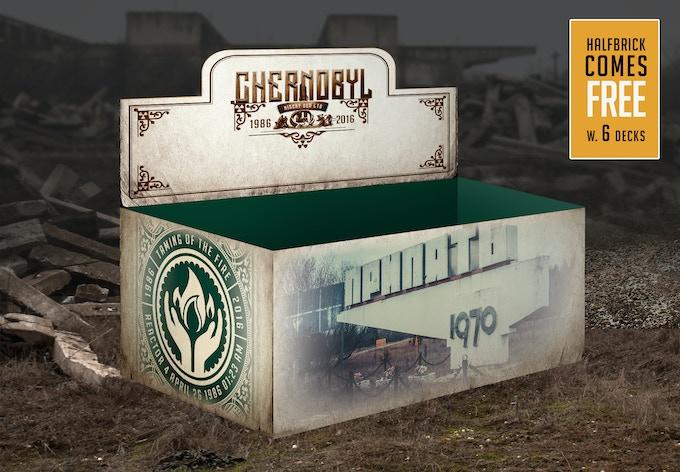 Chernobyl half brick box (mockup)