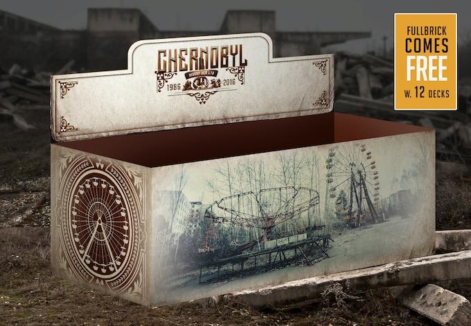 Chernobyl full brick box (mockup)