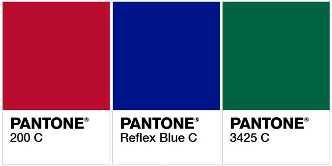 Confirmed hues for Red, Blue, and Green