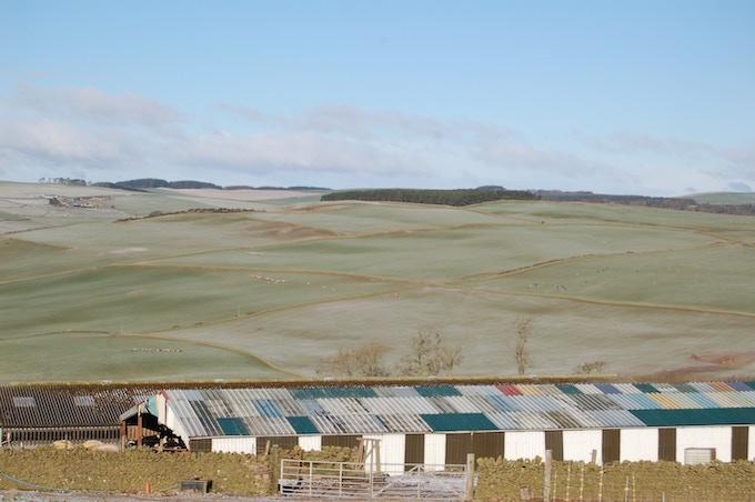 Lambing Shed, Over Langshaw Farm