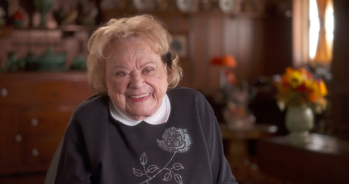 At 92 years old, Rose Marie is one of the best and funniest story tellers we have ever met.