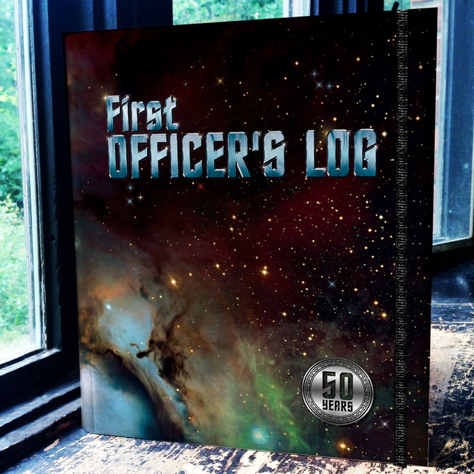 Limited Edition First Officer's Log Con Journal with 50 Year Seal