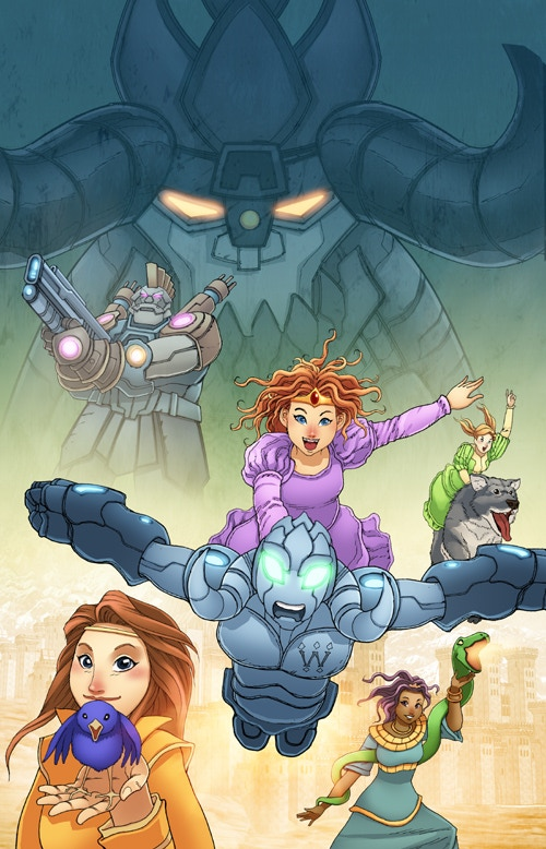 Rod Espinosa (The Courageous Princess) Variant