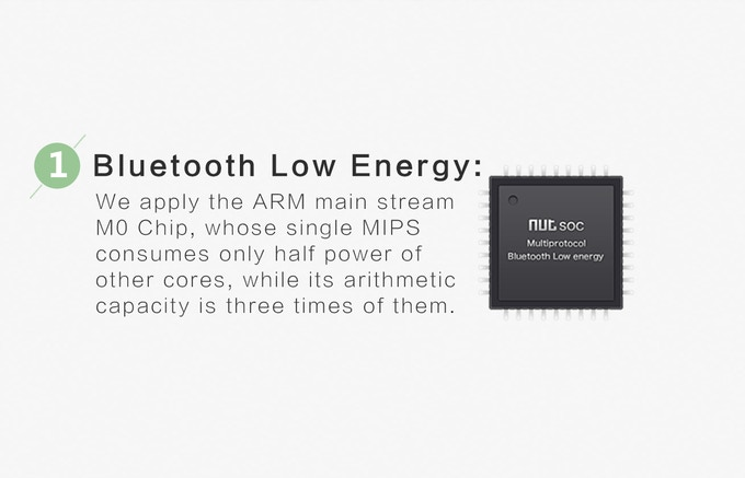 Bluetooth Low Energy Smart System.