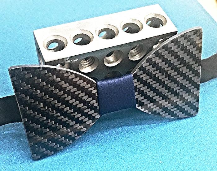 e8c572d9e090 Carbon Fiber Bow Tie by Tim Hulett — Kickstarter