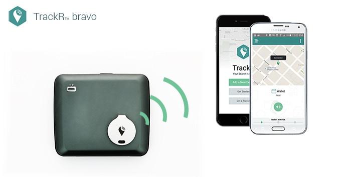 TrackR Bravo.