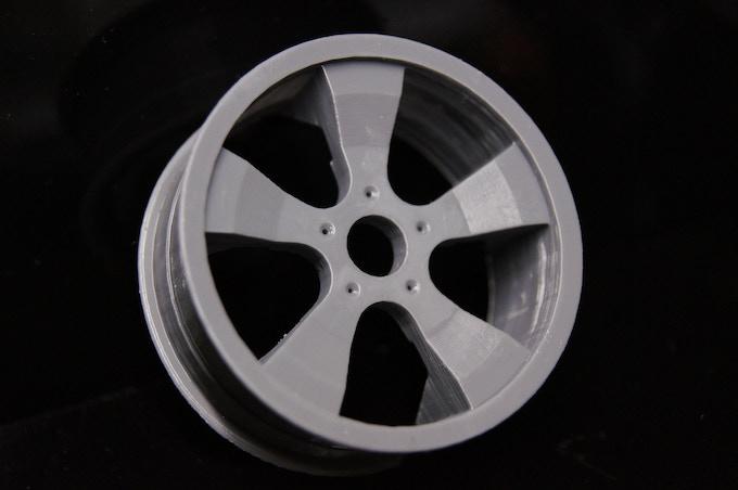 Alloy Wheel by Muhammad Anzar Sareshwala  (x, y 63um, z 100um)