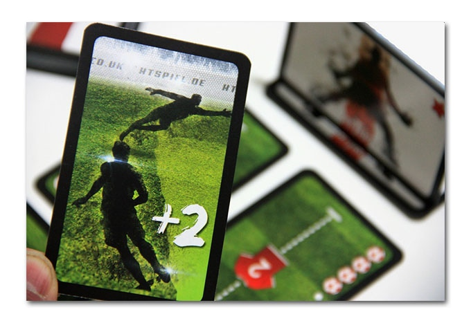 A shooting card – power 2 into the right corner