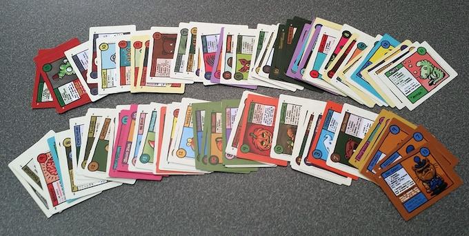 Squirmish Prototype Cards