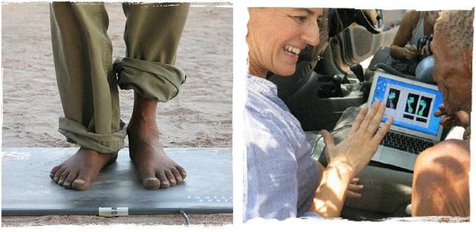 We conducted research into why walking barefoot is so important for health.