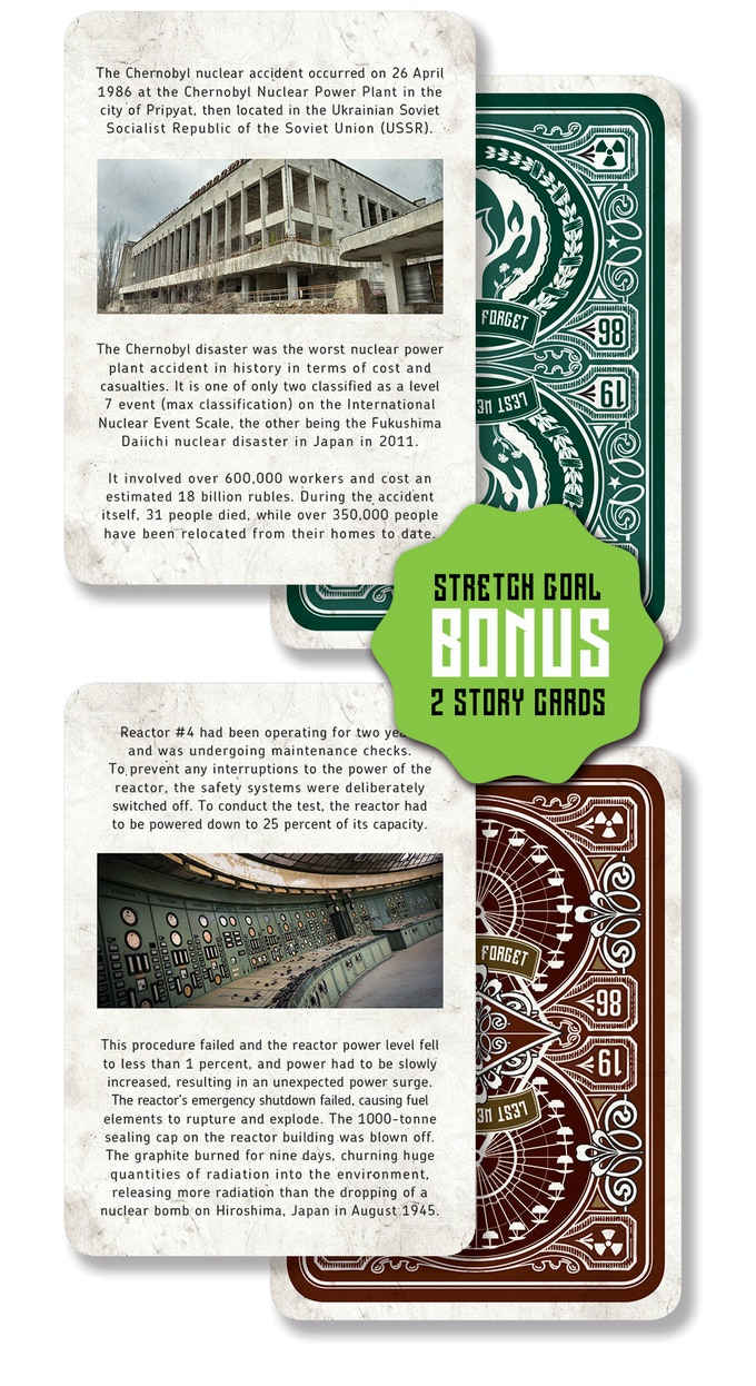 These cards are included automatically for every backer