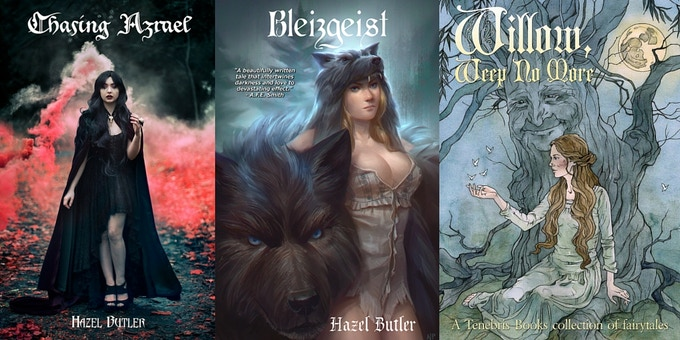'Chasing Azrael', 'Bleizgeist' and 'Willow, Weep No More' (Containing Hazel's Short Story, 'Grave')