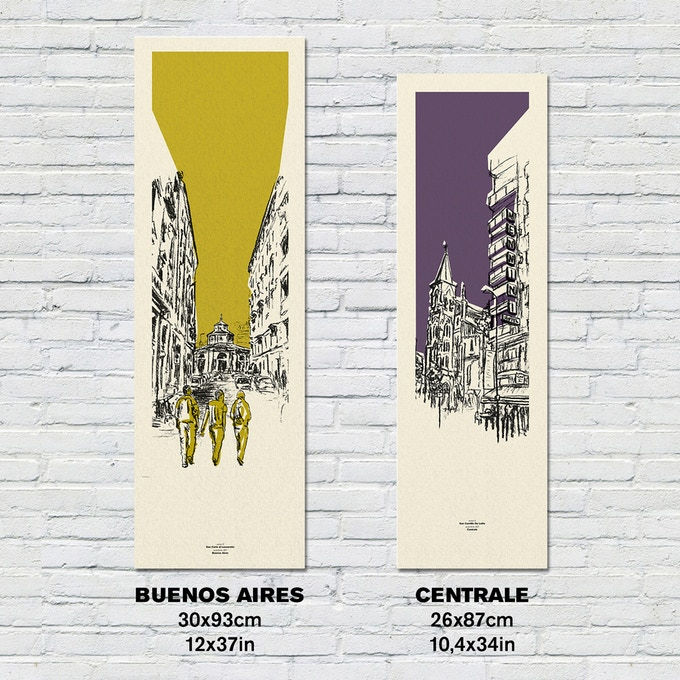 Limited edition screen printed posters