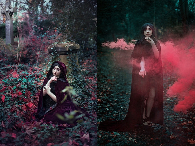 'Grief of a Rose' and 'Necromancer'
