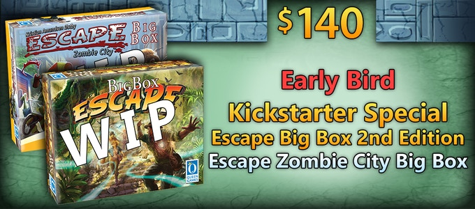 Escape Zombie City Big Box & Escape Big Box (2nd Ed) by