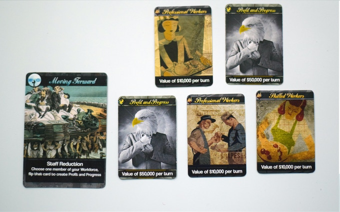 Capitalism, USA a Game of Greed by Rian Heist — Kickstarter