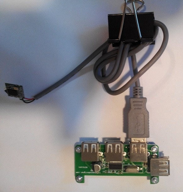 Hubpixed with Wifi on USB Cable